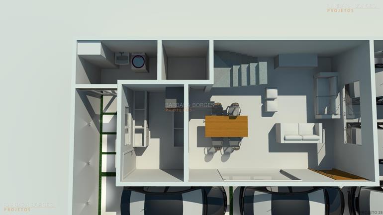 revestimento de parede cozinha planta casa terrea garagem ampla