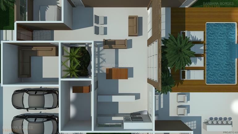 simulador de decoração de ambientes planta casa terrea garagem ampla