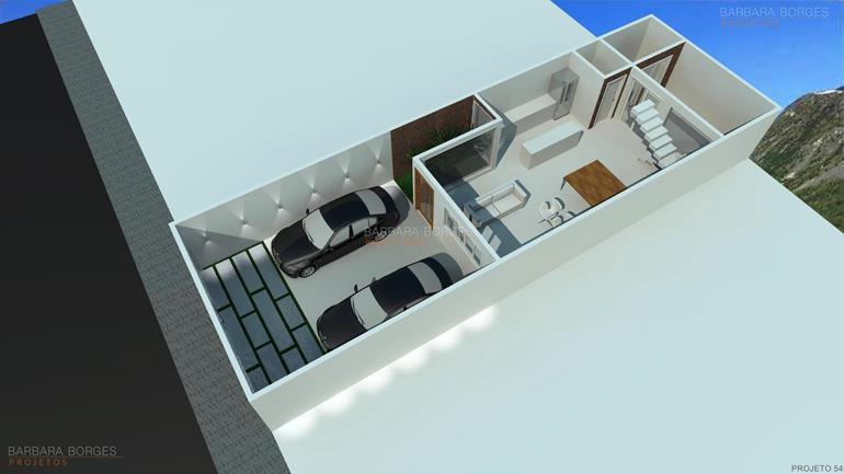 quartos de solteiro planejados planta casa terrea piscina