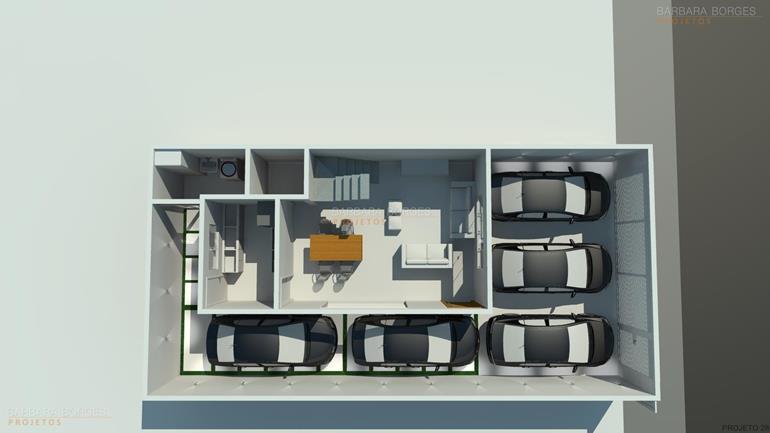 sala de jantar 6 lugares planta casa terrea piscina
