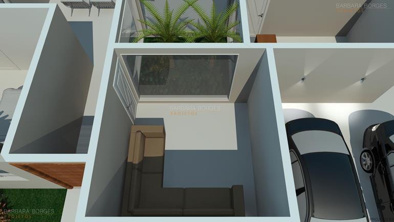 sofá para varanda planta casa terrea rustica