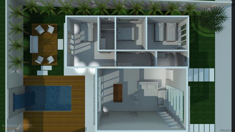 revestimento de parede cozinha planta casa terrea telhado embutido