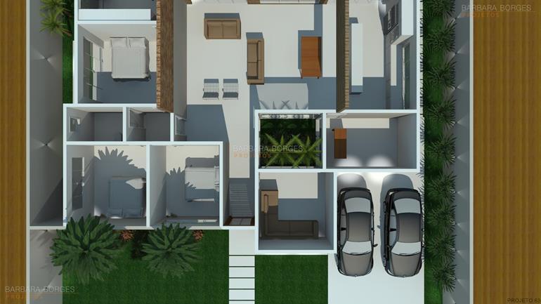 tipos de banheiros planta casa terrea telhado embutido