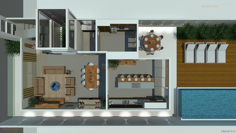 casa reforma planta contemporanea 3 suites
