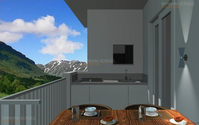 varanda apartamento planta sobrado area lazer