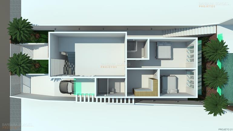 tudo sobre design de interiores planta sobrado contemporaneo