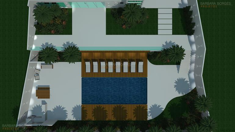 varanda apartamento planta sobrado geminado simples