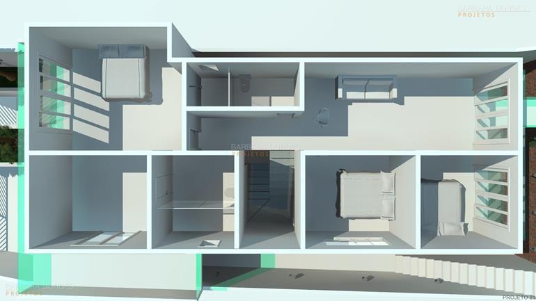 casa reforma planta sobrado moderno pequeno