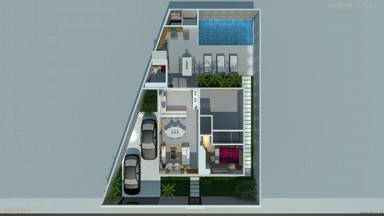 apartamento com varanda gourmet planta sobrado moderno pequeno
