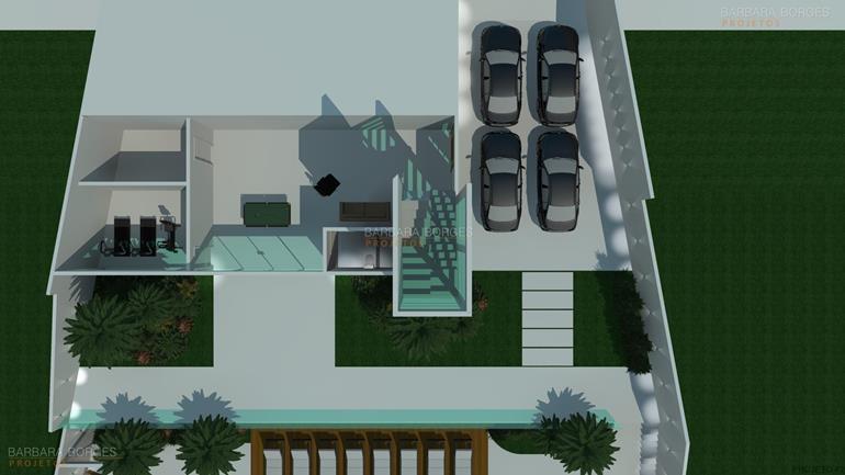 concreto projetado planta sobrado simples