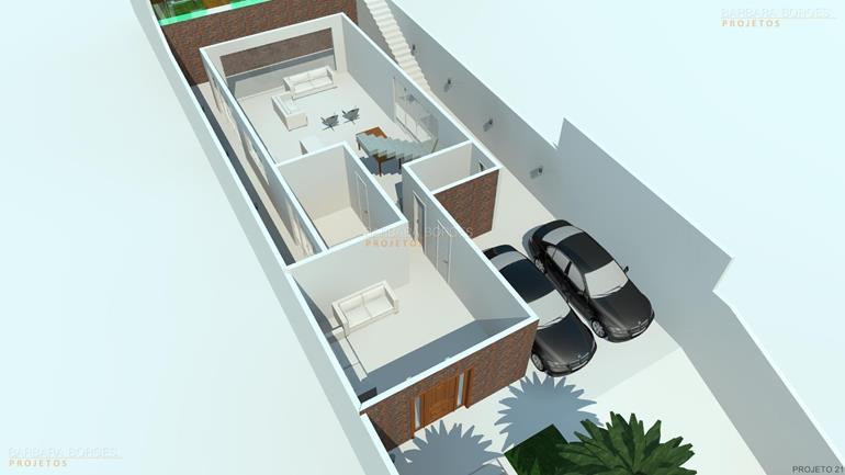 apartamento com varanda gourmet planta sobrado simples