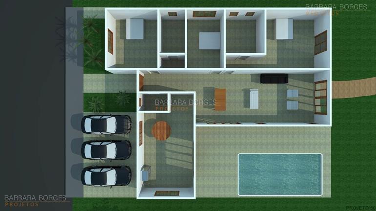 concreto projetado planta sobrado varanda