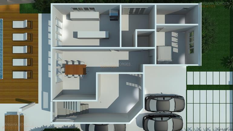 apartamento com varanda gourmet plantas arquitetura