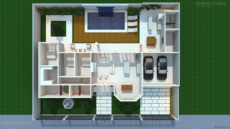 armarios de cozinha de aço plantas arquitetura