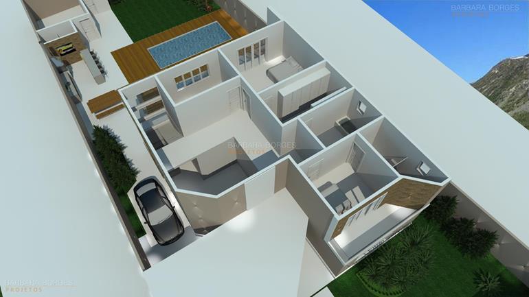 area de lazer residencial plantas baixas
