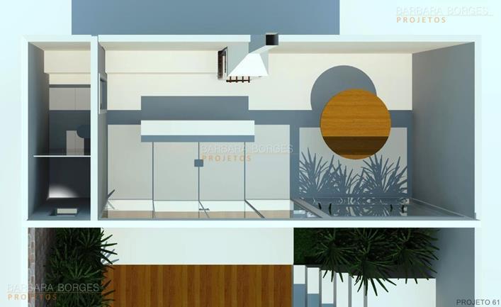 banheiro projetado plantas casas