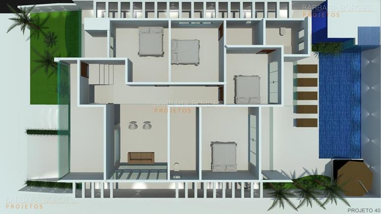 armarios sob medida plantas casas modernas pequenas