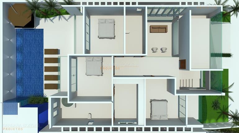 arquitetos são paulo plantas casas terrenos pequenos