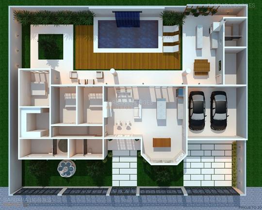 cadeiras para sala de jantar modernas plantas terreno 10x20