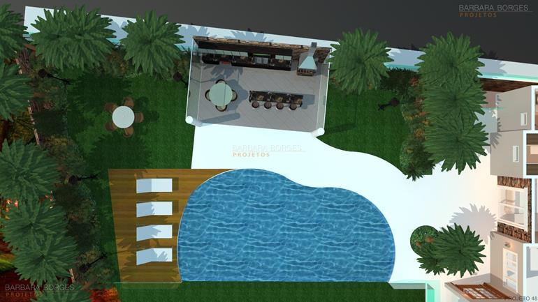 banheiro projetado plantas terreno 10x25