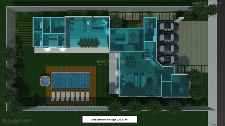 casas com area de lazer plantas terreno 12x28