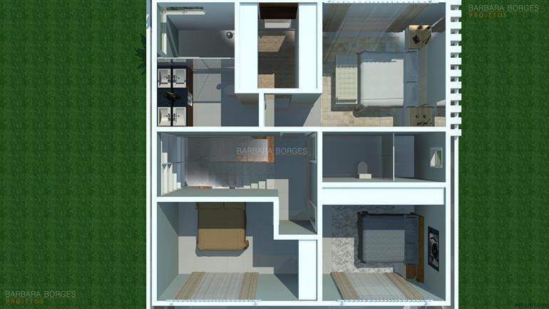 como projetar uma cozinha plantas terreno 12x28