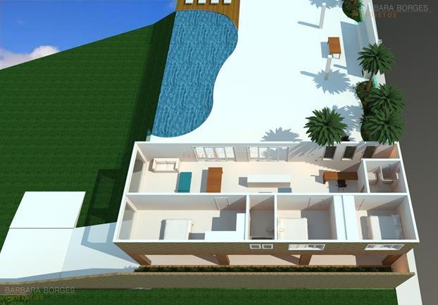 casa revista plantas terreno 5x20