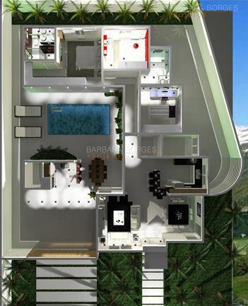 como projetar uma cozinha plantas terreno 7x25