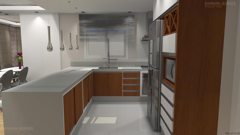 cozinha itatiaia de aço projetar Armarios 3D