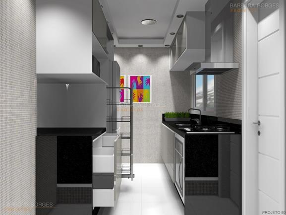cozinha moduladas projetar Armarios 3D