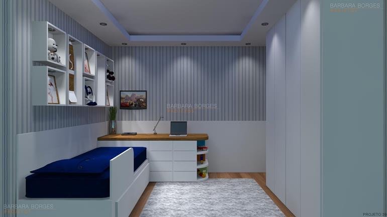 cozinha linear projeto 2 quartos cidade