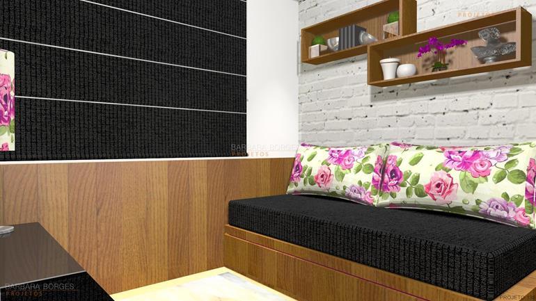cozinhas pequenas sob medida projeto 2 quartos varanda