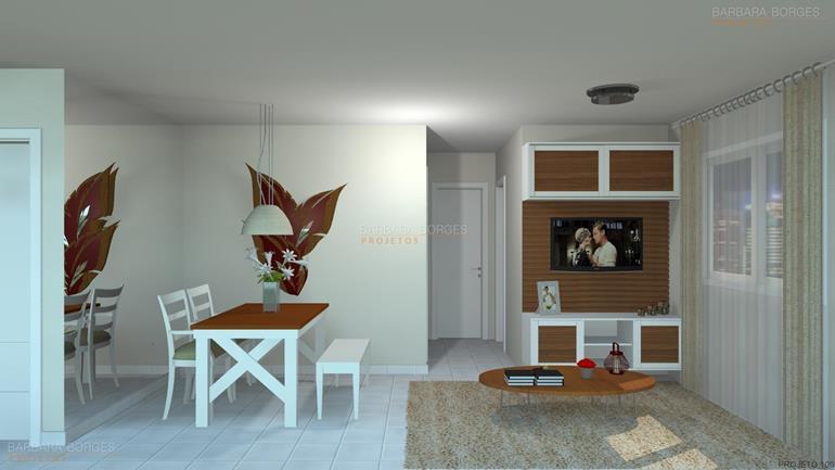 cozinhas projetadas pequenas projeto apartamento