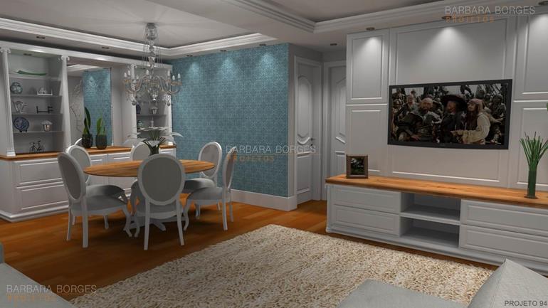 decoração da sala de estar projeto apartamento