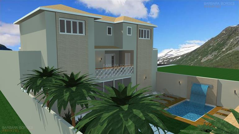 cozinha linear projeto arquitetonico