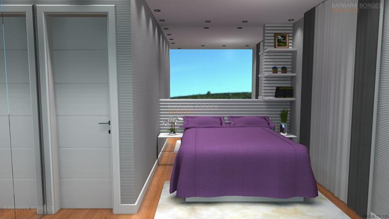 decoração de quartos de jovens projeto closet