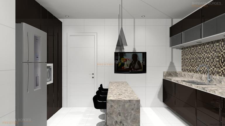 decoração ambientes projeto cozinha