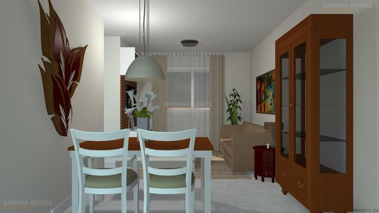 decoração de quartos pequenos de casal projeto design
