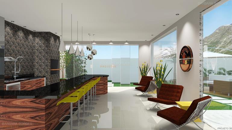 decoração pequenos ambientes projeto edicula