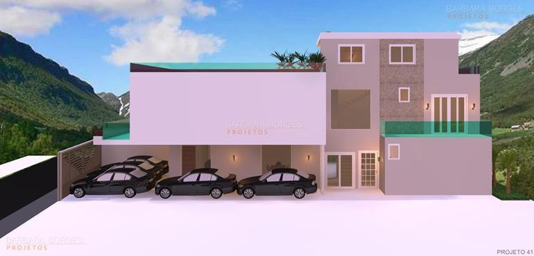 decoração de sacadas pequenas projeto fachada