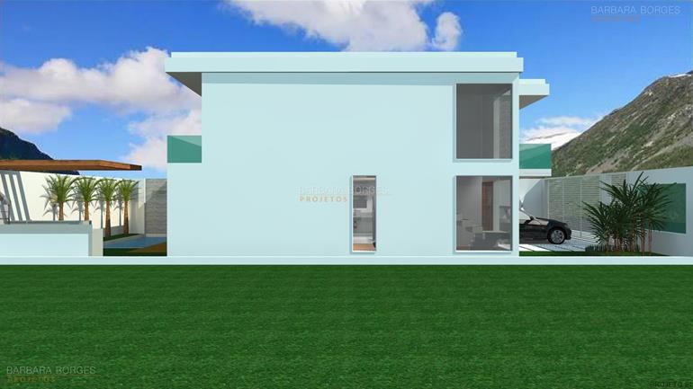 projeto fachada madeira