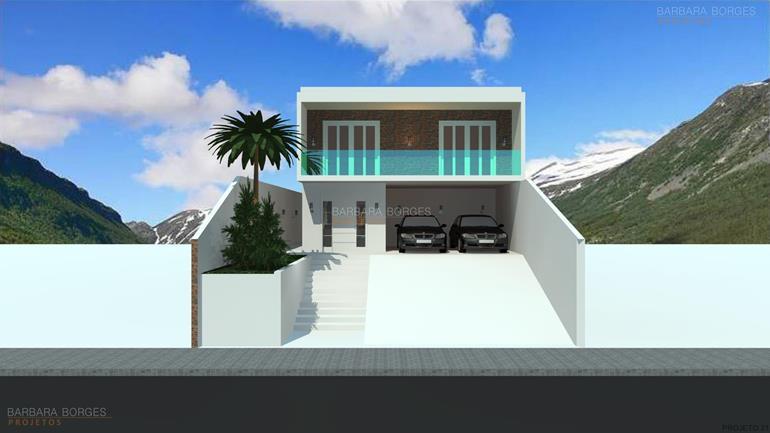decoração pequenos ambientes projeto fachadas