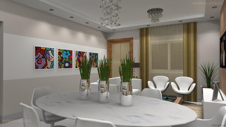 decorar sala de jantar projeto interiores