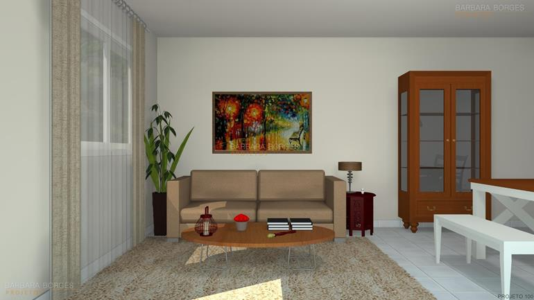 decoração varanda apartamento projeto kitnet