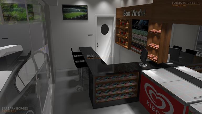 decoracion de interiores projeto lojas