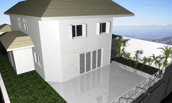 espaço churrasqueira projeto sobrado terraco
