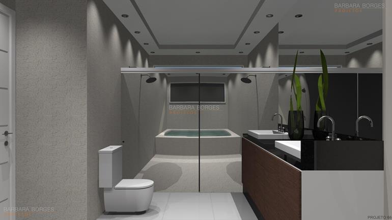 empresas de decoração projetos banheiros