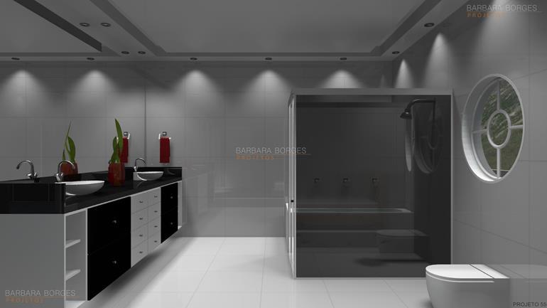 escritórios de arquitetura em sp projetos banheiros pequenos