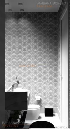 fotos de sala decorada projetos banheiros pequenos