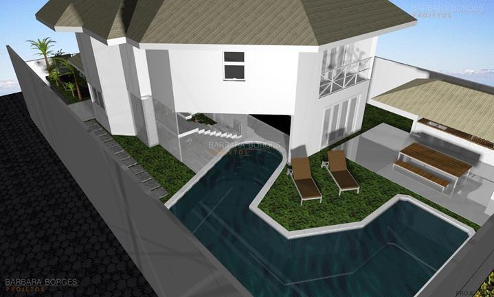 idéias de decoração projetos casas campo